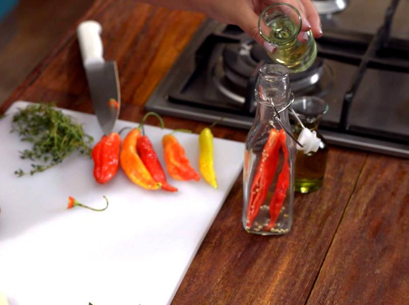 Ароматизированное оливковое масло Часть 1