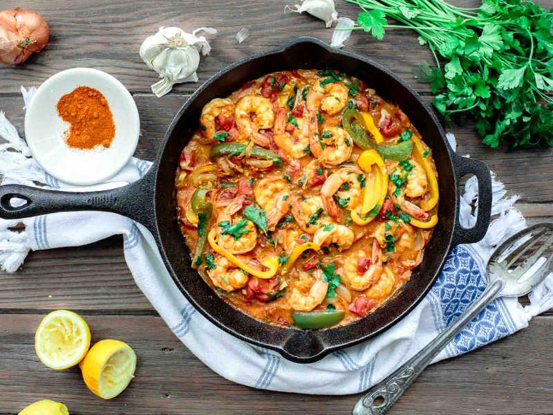 рецепт креветок с оливковым маслом