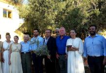 греческая оливковая ветвь направилась в Рио