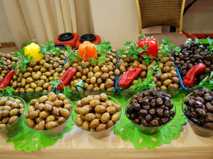 Продажи столовых маслин