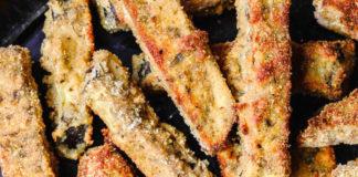 Запечённые баклажаны с оливковым маслом