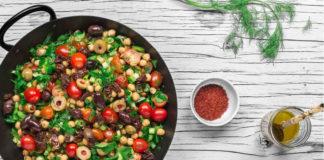 Салат балела с оливковым маслом