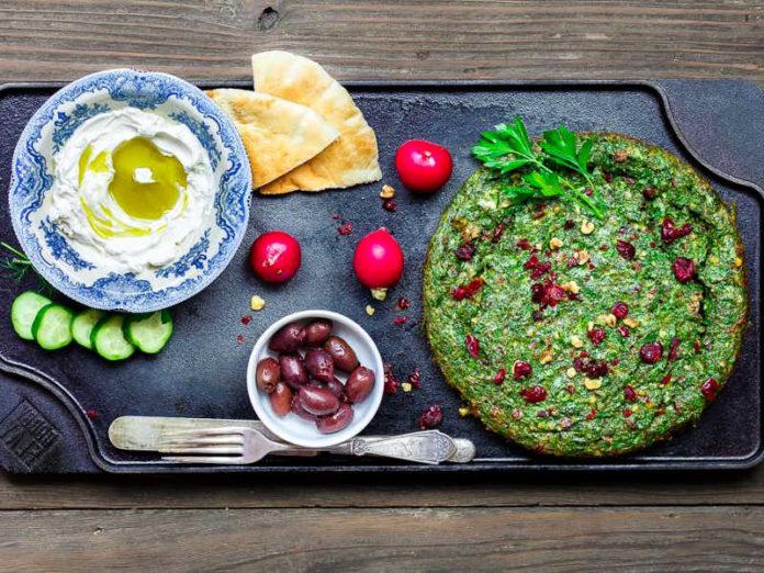 омлет с оливковым маслом