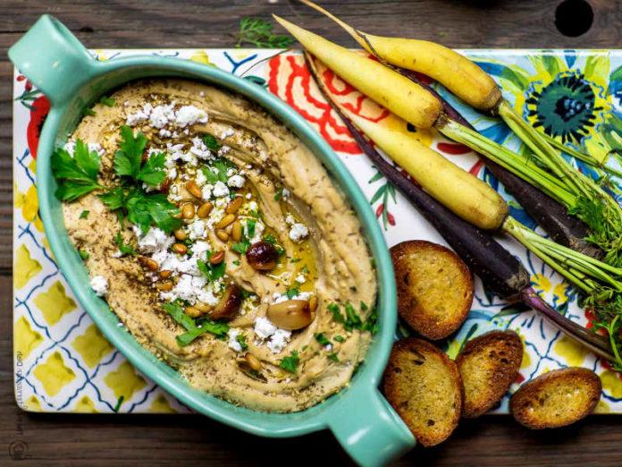 Хумус с оливковым маслом