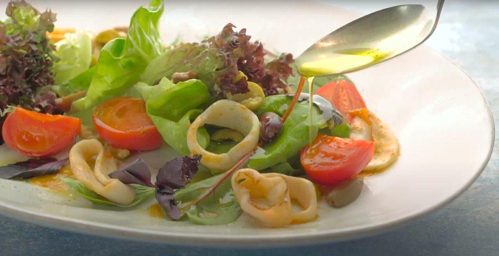 Компоненты средиземноморской кухни укрепляют весь организм