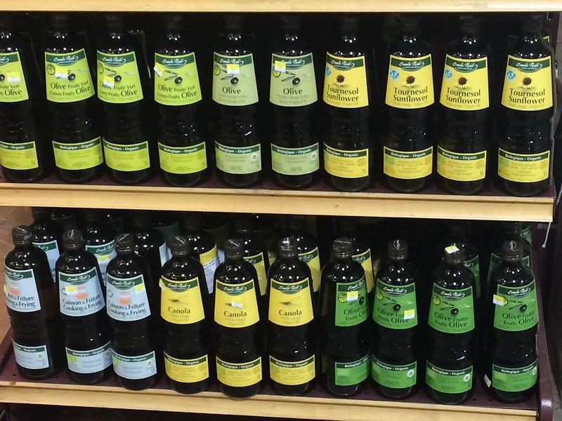 разные бренды оливкового масла