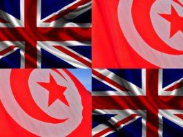 взаимоотношения между Великобританией и Тунисом